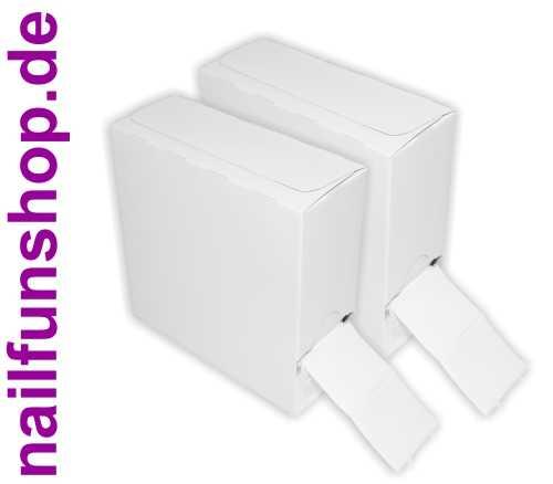 Doppelpack 250er Packung / Rolle Zelletten im neutralen Spenderkarton