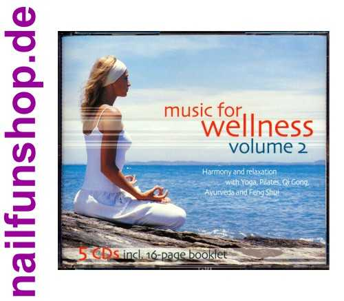 Music for Wellness Volume 2 - 5 CD Box - Harmony and Relexation