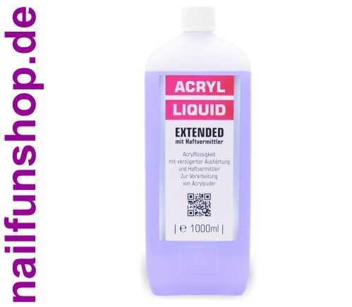 Acryl-Flüssigkeit EXTENDED mit Haftvermittler 1000ml = 1 Liter