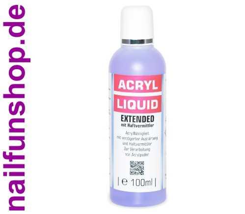 Acryl-Flüssigkeit EXTENDED mit Haftvermittler 100ml