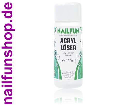 Acryl Tip Löser Remover 100ml in Kunststoff-Flasche