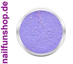 Acryl Luxus Puder 10 Flieder Glitter - 3gr. Dose - mischbar