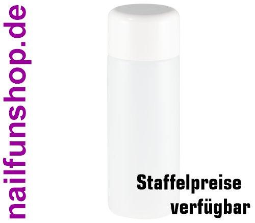 100ml runde HDPE Leerflasche mit Doppelwandverschluss und Spritzeinsatz