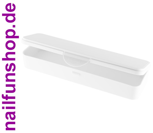 Hygiene-Box [weiss] Kundenbox Feilenbox Arbeitsmaterial-Box