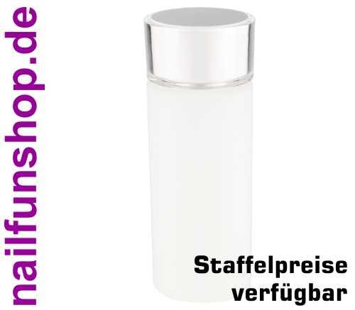 120ml runde PE Leerflasche mit Doppelwandverschluss und Spritzeinsatz