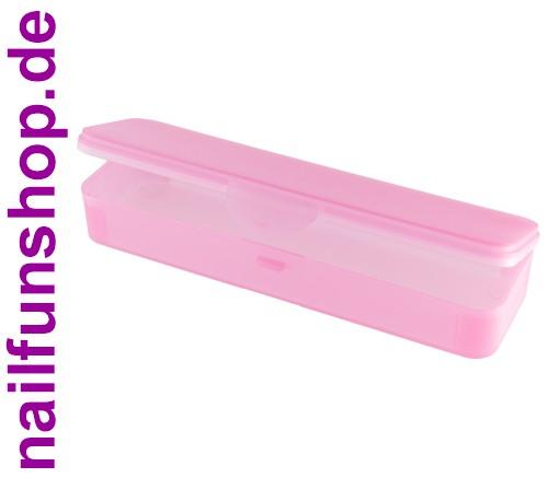 Hygiene-Box [pink] Kundenbox Feilenbox Arbeitsmaterial-Box