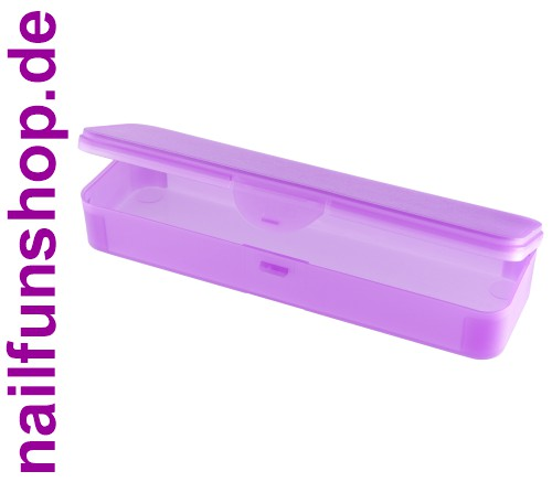 Hygiene-Box [lila] Kundenbox Feilenbox Arbeitsmaterial-Box
