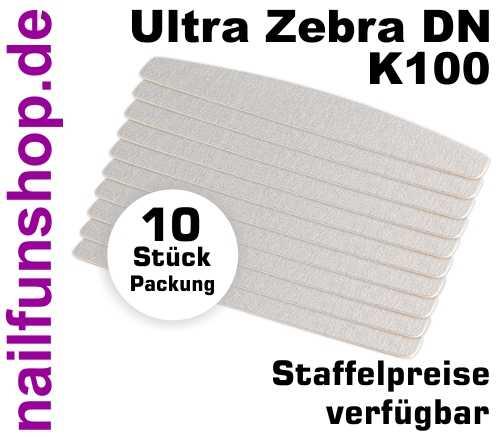 Wechselfeilen Halbmond Ultra Zebra K100 - 10er Pack - P-DN100