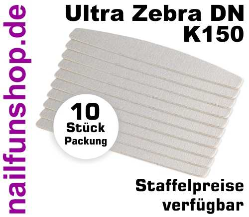 Wechselfeilen Halbmond Ultra Zebra K150 - 10er Pack - P-DN150