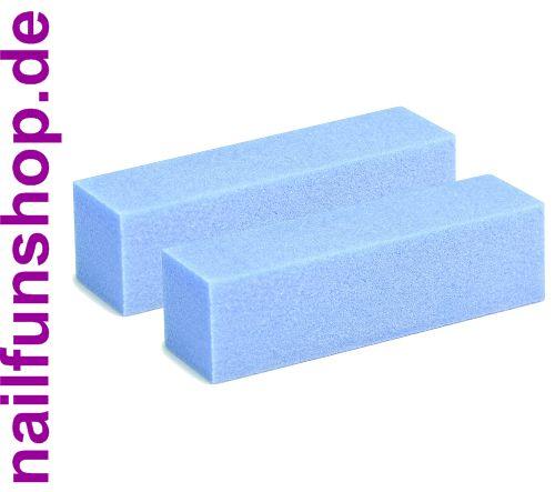 2 Stück Buffer Profi-Schleifblock (blau)