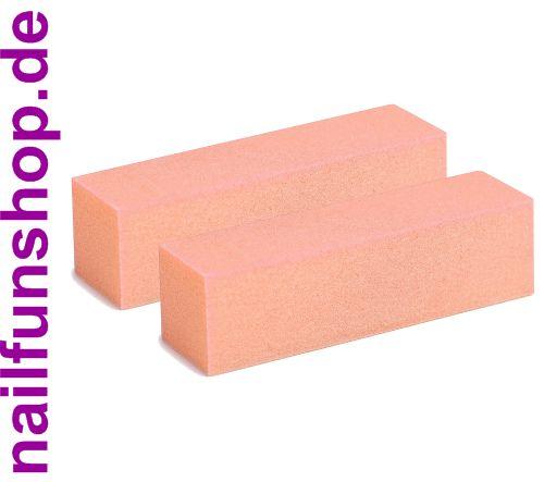 2 Stück Buffer Profi-Schleifblock (orange)