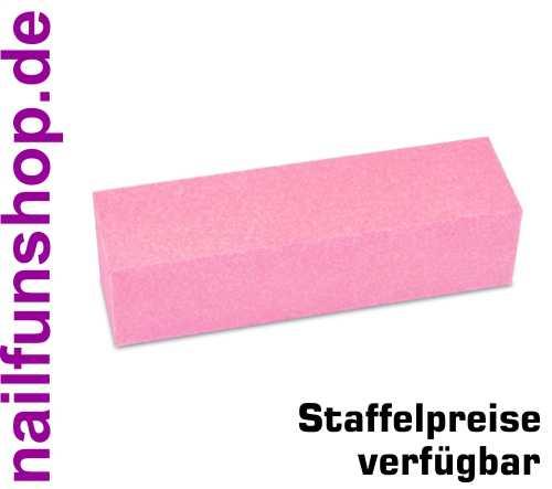 Buffer Schleifblock Pink Rosa