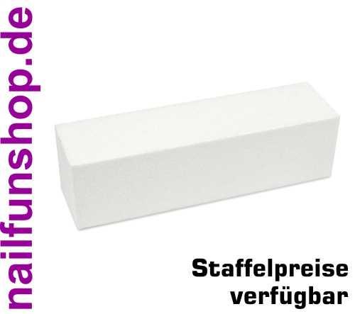Buffer Schleifblock 4-seitig feine Körnung weiss - beste Qualität