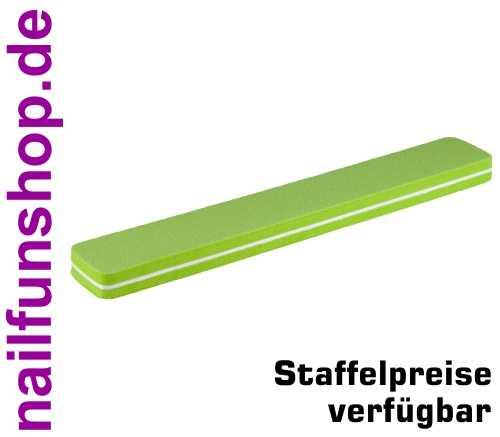 Rechteck Bufferfeile SUPERFLEX grün, fein, Körnung 180/180