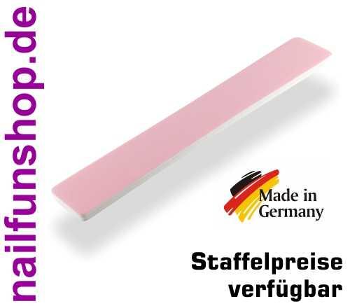 NAILFUN High Polish Jumbo Polierfeile der neuen Generation pink / weiss