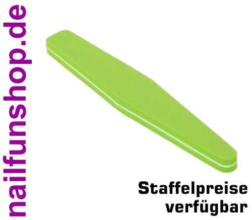 Buffer-Feile SUPERFLEX Trapez grün Körnung 180/180 beidseitig fein