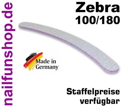 Zebrafeile Banana Profi-Qualität - Körnung 100/180 - made in Germany