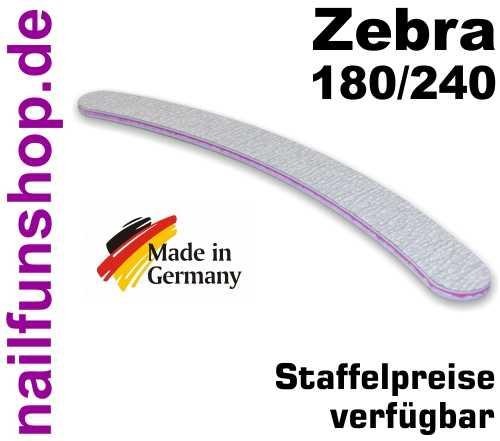 Zebrafeile Banana Profi-Qualität - Körnung 180/240 - made in Germany