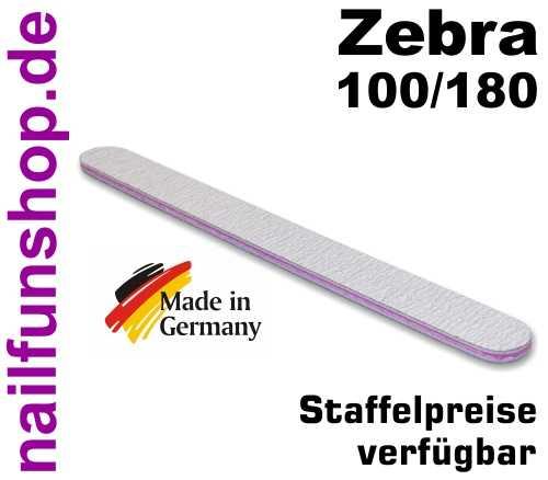 Zebrafeile gerade Profi-Qualität - Körnung 100/180 - made in Germany
