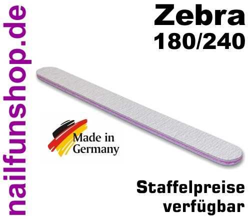 Zebrafeile gerade Profi-Qualität - Körnung 180/240 - made in Germany