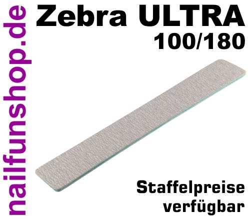Zebrafeile JUMBO Longlife Profi-Qualität - Körnung 100/180 - Kern Türkis