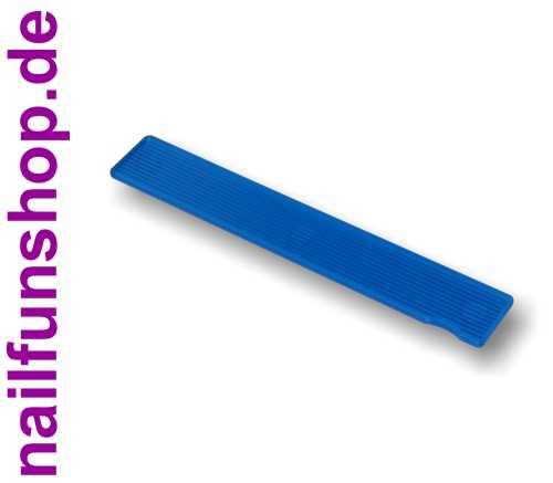 Profi Feilflächen Wechselsystem - Griffstück blau Rechteck - GRB30