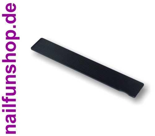 Profi Feilflächen Wechselsystem - Griffstück schwarz Rechteck - GRS30