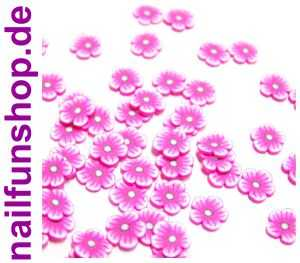 20 Fimo Scheiben Blumen # 8 (FM-B8)