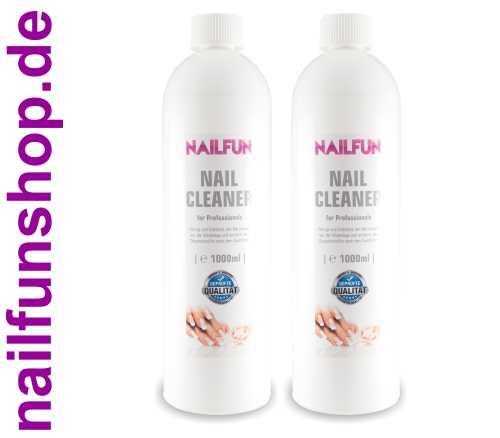 2 x 1 Liter Nailcleaner = 2000ml Spezial Nagel-Reiniger (2-Propanol)