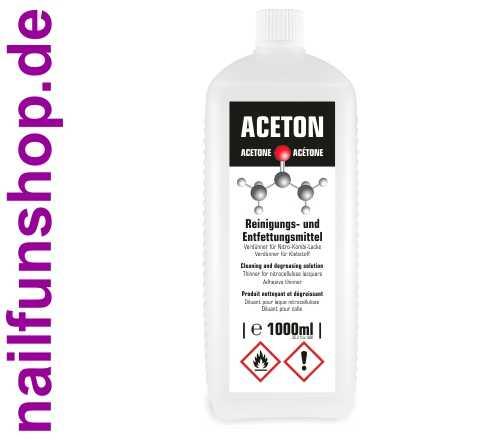 ACETON - Reinigungs- und Entfettungsmittel, 1 Liter
