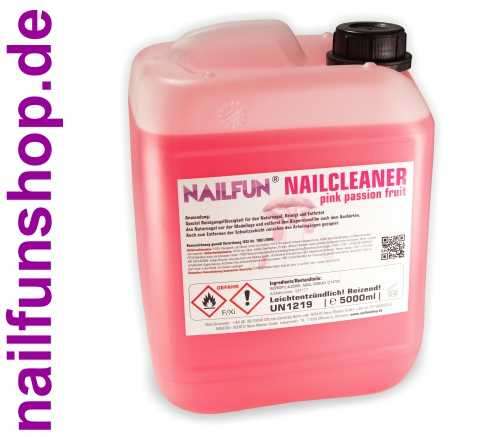 5 Liter Nail-Cleaner Pink Passion Fruit im Kanister - 5000ml Nailcleaner