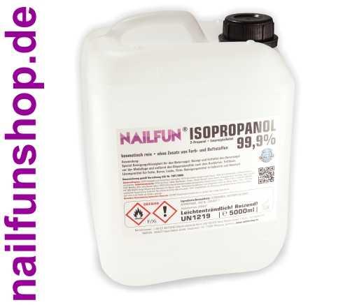 5 Liter Isopropanol 99,9% kosmetisch im Kanister - 5000ml 2-Propanol