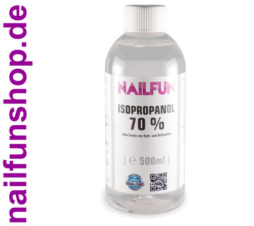 Isopropanol 70% - 500ml •  Isopropyl-Alkohol 70 %