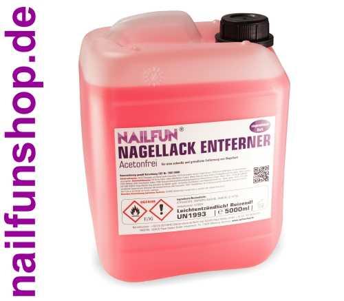 5 Liter Nagellackentferner - Polish-Remover 5000ml ACETONFREI im Kanister