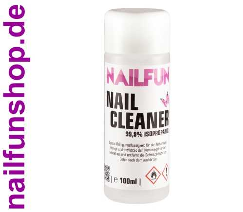 Nailcleaner 100ml 99,9% Isopropanol Cleaner kosmetisch