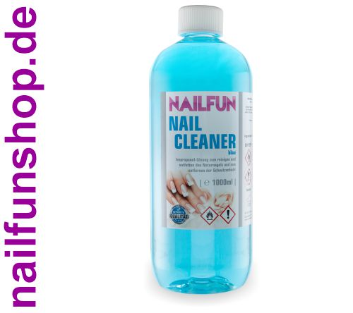 Nailcleaner 1000ml blau - Spezial Nagel-Reiniger Cleaner - reinigt und entfettet