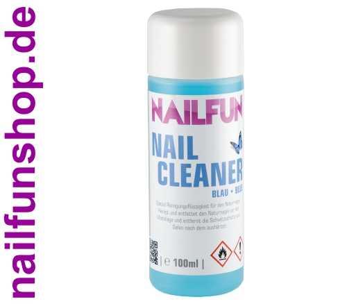 Nailcleaner 100ml blau - Spezial Nagel-Reiniger Cleaner - reinigt und entfettet