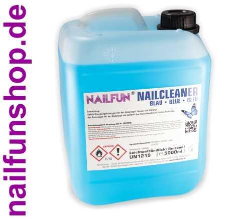 5 Liter Nail-Cleaner BLAU SPEZIAL im Kanister - 5000ml Nailcleaner