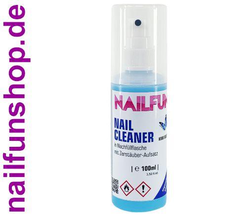 Nailcleaner mit Duft KIWI - 100ml in der nachfüllbaren Sprühflasche