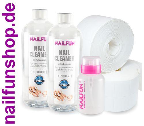 2 Liter NailCleaner = 2000ml + 1000 Zelletten + 1x Pumpflasche ( leer)