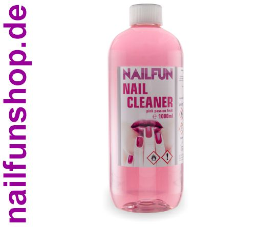 1 Liter Nailcleaner NAILFUN Pink Passion Fruit