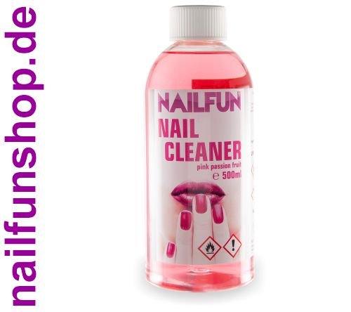 500ml Nailcleaner NAILFUN Pink Passion Fruit