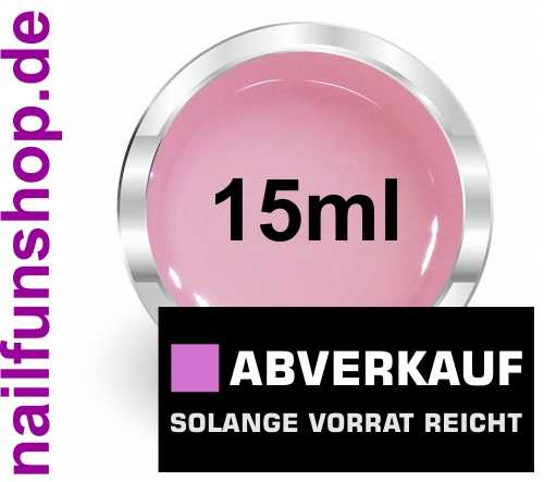NAILFUN 15ml 3in1 Allround Gel pink-klar 1-Phasengel dickviskose und säurearm