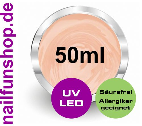 EASY-Gel säurefreies Modellagegel High-Quality [50ml] UV & LED hochviskos