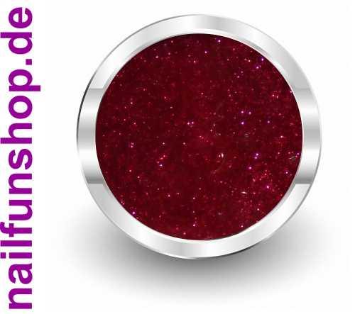 NAILFUN PRIME Farbgel 141 Glitter Rot - 5ml