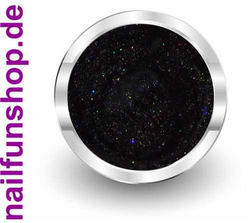 NAILFUN PRIME Farbgel 257 Glitter Black Rainbow - 5ml