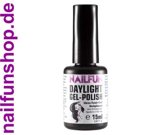 DAYLIGHT Gel Polish 15ml, Tageslicht UV härtend ohne Schwitzschicht