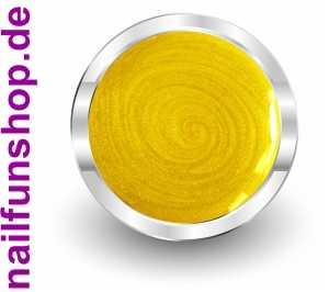 NAILFUN UV-Color-Farbgel Metallic Limone - 5ml