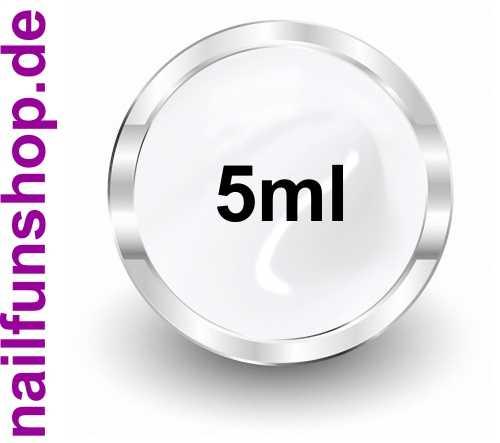FOLIENGEL - UV-Gel weiss - 5ml - ideal für Nailart mit Transferfolie