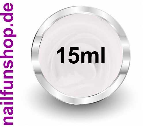 Frenchgel 15ml Soft White - hochdeckend - mittelviskose